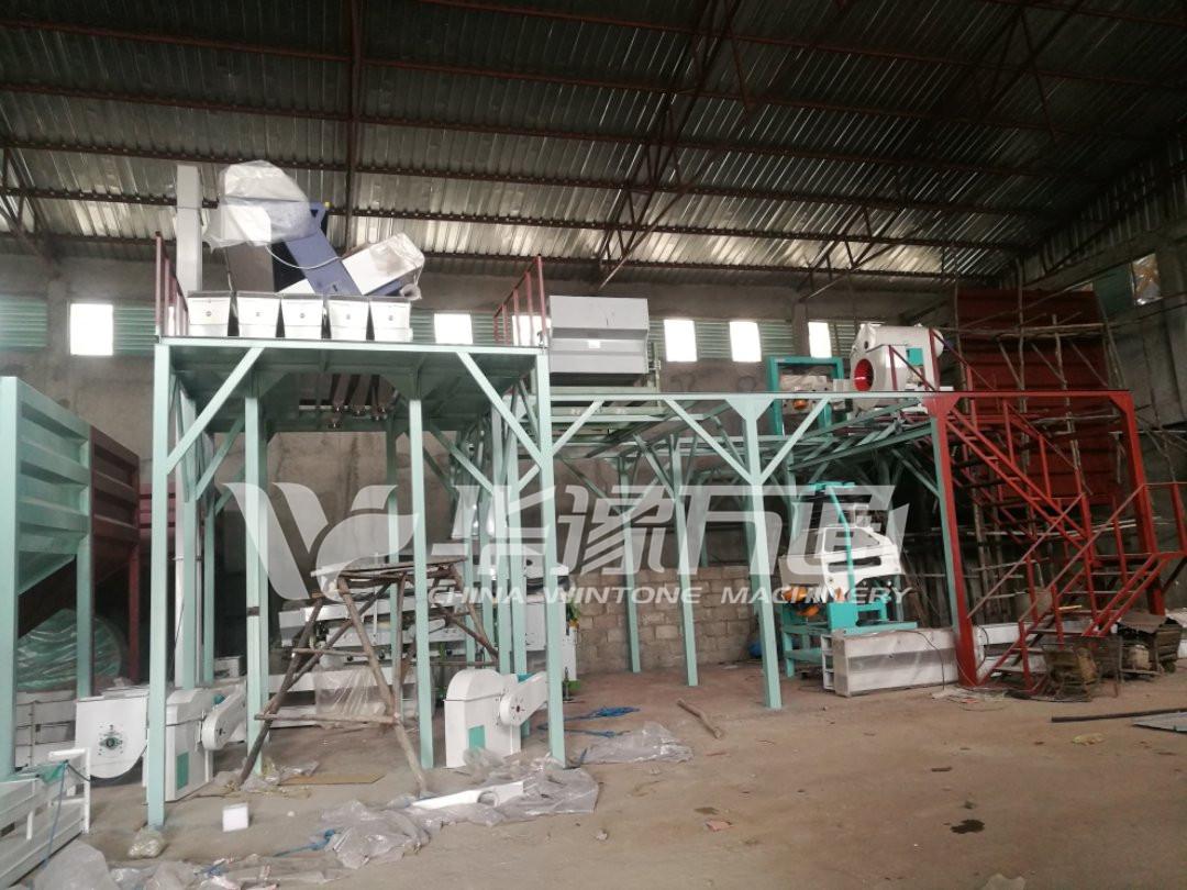 Coffee Beans Cleaning Project ቡና ማጽጃ/መልቀሚያ ማሽኖች