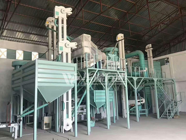 Green Coffee Bean Processing Plant አረንጓዴ ቡና ማቀነባበሪያ ተክል